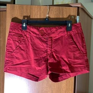 Pants - FSR red shorts